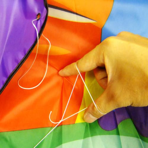 как завязать воздушного змея инструкция - фото 9
