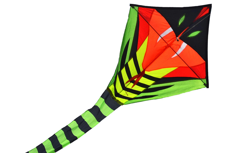 Зеленый питон, воздушный змей 15 метров [ZB775]