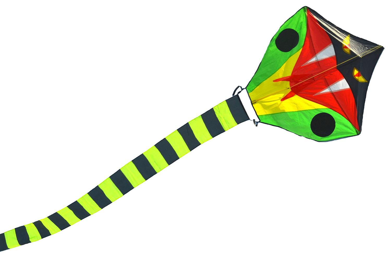 Зеленый питон, воздушный змей 30 метров [ZB774]