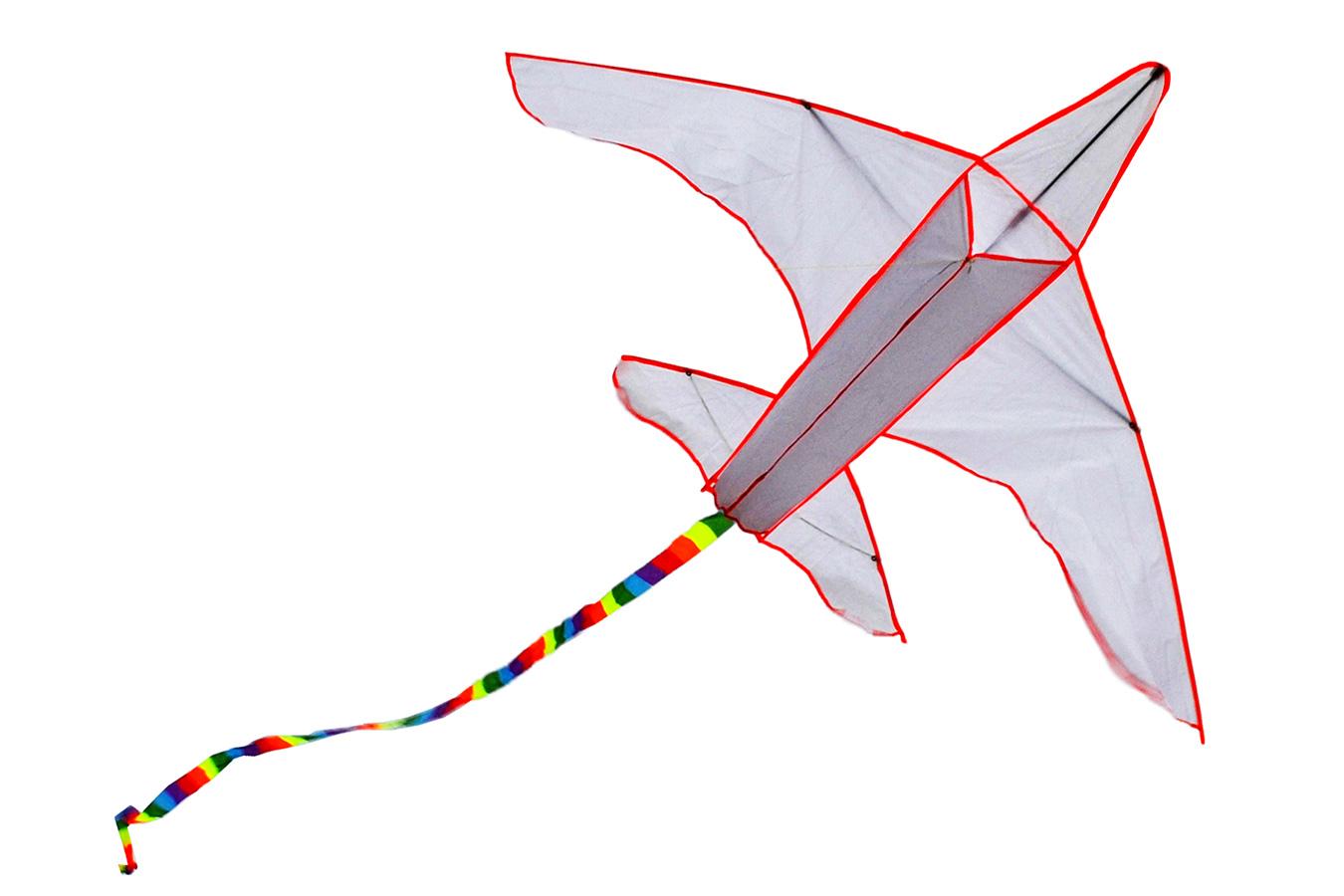 Большой самолет, воздушный змей для раскраски [ZBT593]