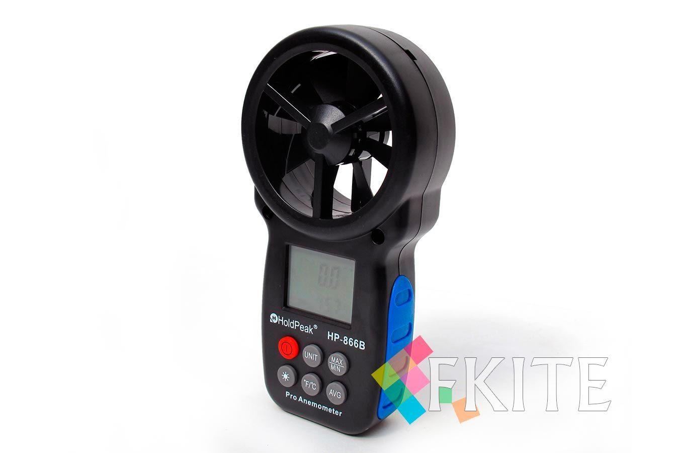 Анемометр цифровой крыльчатый HoldPeak PRO HP-866B [DA010]