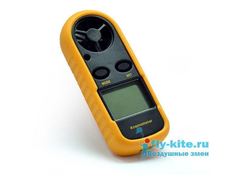 Анемометр GM816 цифровой крыльчатый с чехлом