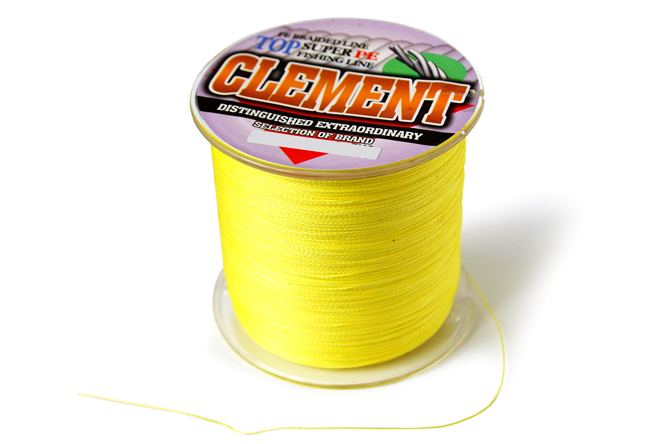 Плетеный шнур Clement Super PE 1.2# 9.07 кг, 500 м [SPE90500]