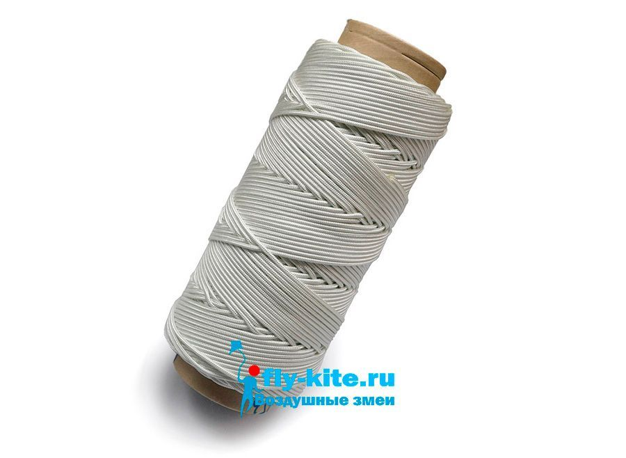 Нить Poliamid 150 метров для воздушного змея леер 3 мм 200 кг [KL150P]