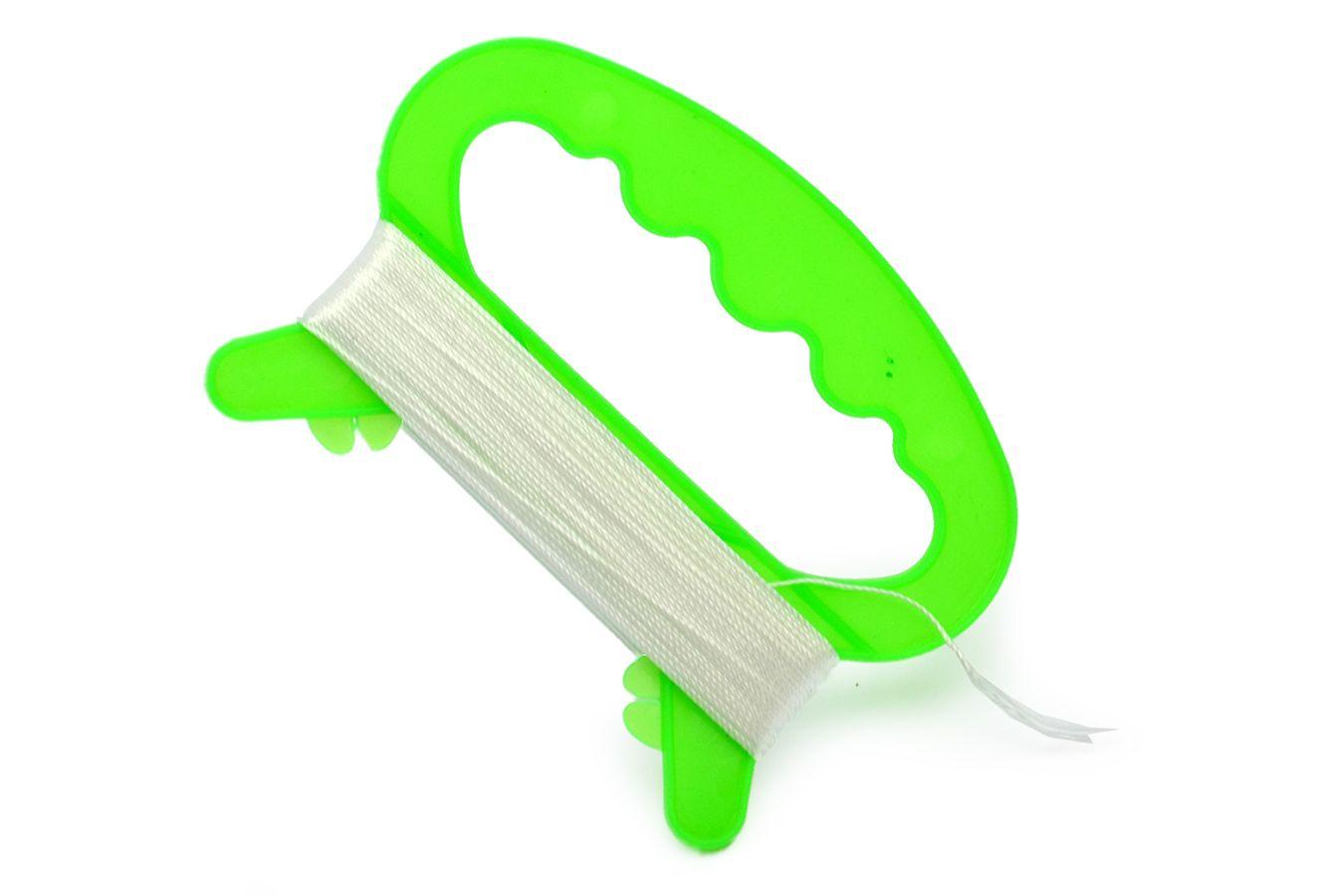 Нить 25 метров для воздушного змея на пластиковой ручке [KL25]