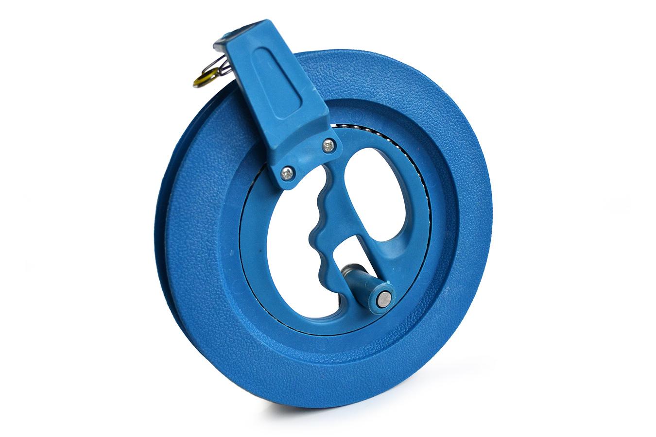 Катушка 16см малая синего цвета для воздушного змея [KR16B]