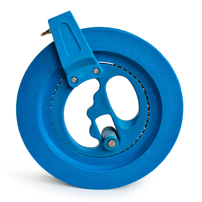Катушка 16 см малая синего цвета для воздушного змея [KR16B]