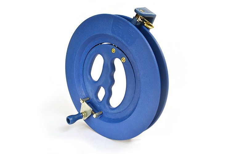 Катушка 20 см малая синего цвета для воздушного змея [KR20B]