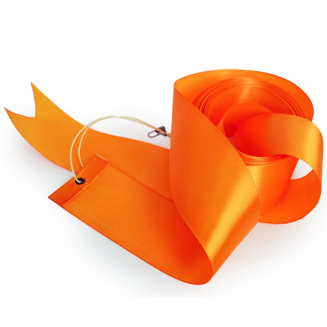 Лента оранжевая 5 метров