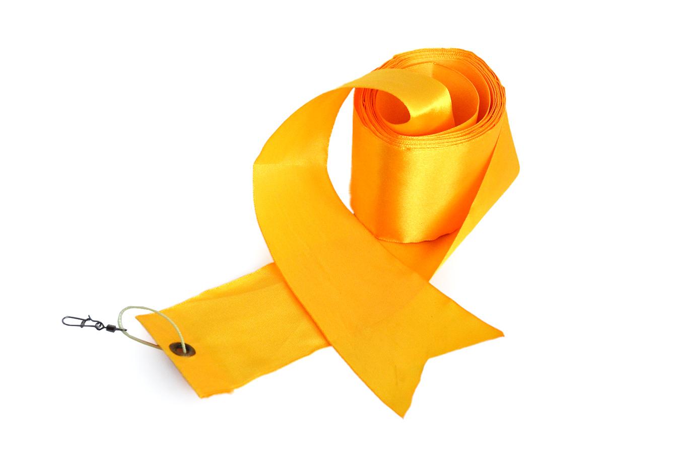 Лента желтая 5 метров для воздушного змея [KB55Y]