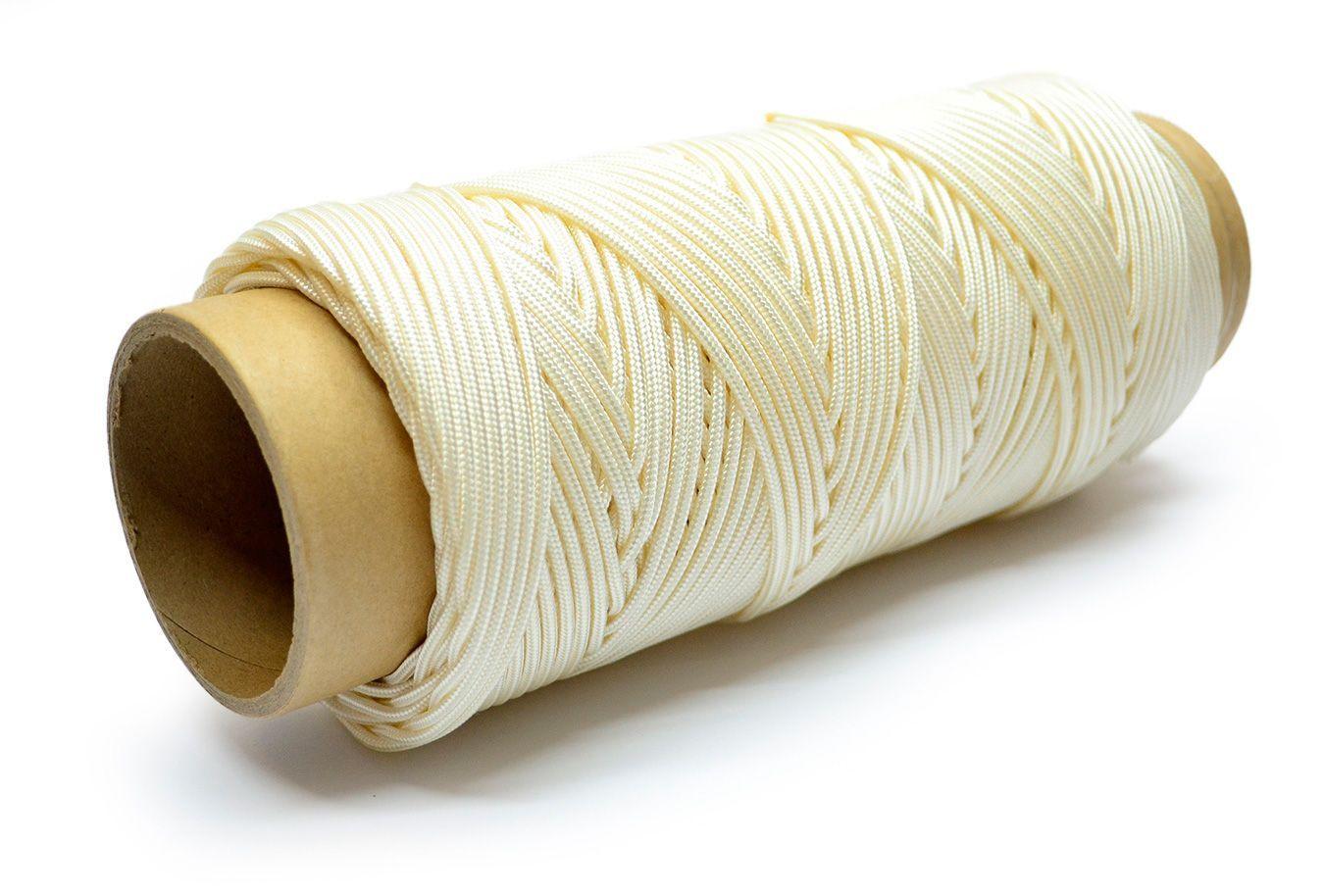 Нить для воздушного змея леер Poliamid 300 метров 2 мм 100 кг [KLK216]