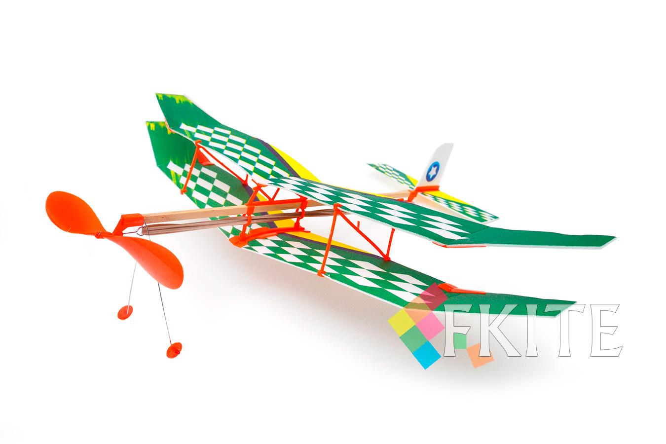 Самолет Лебедь XI на резинке [FLXIL]
