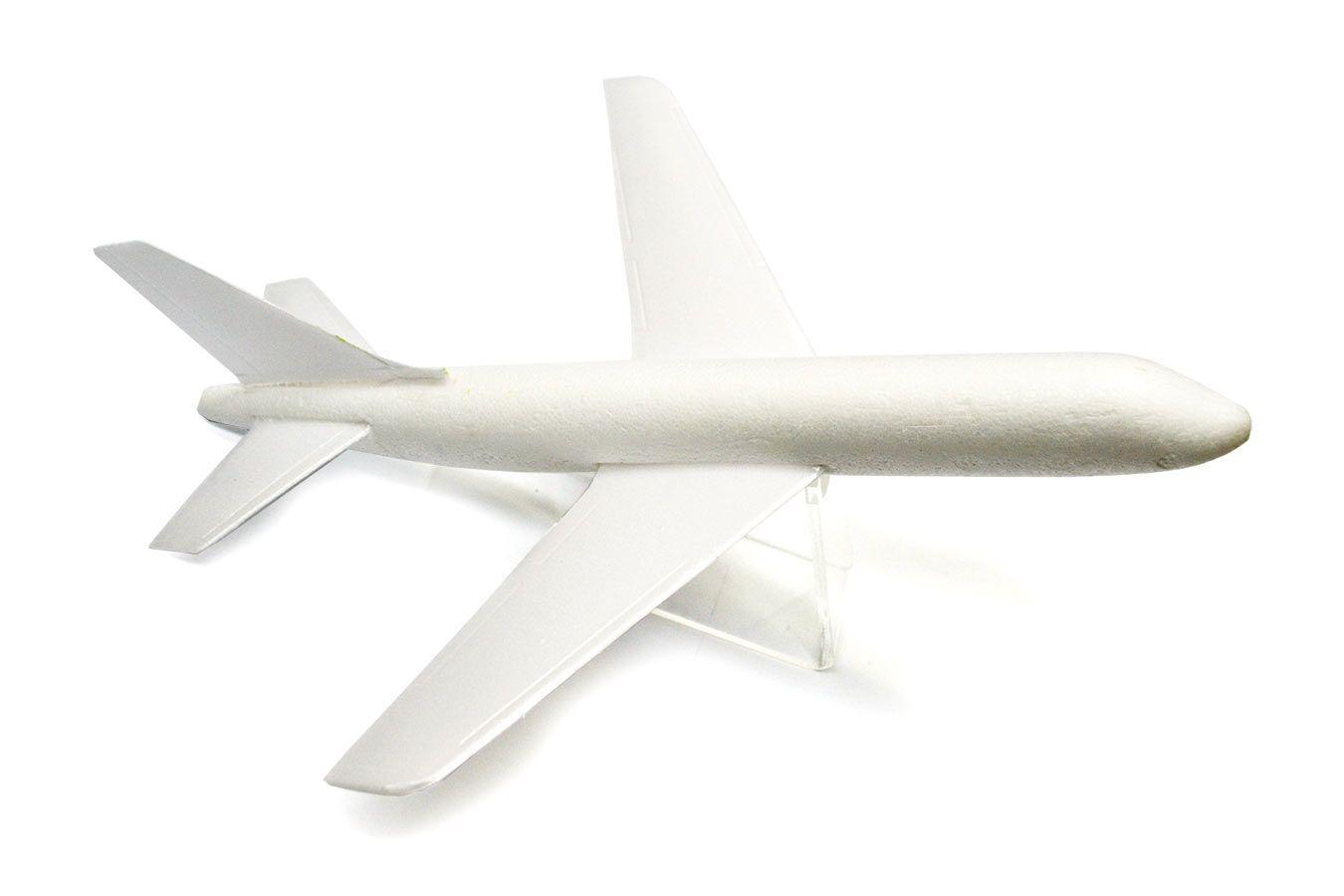 Летающий Аэробус 27 см из пенопласта с запуском [FLPA27]