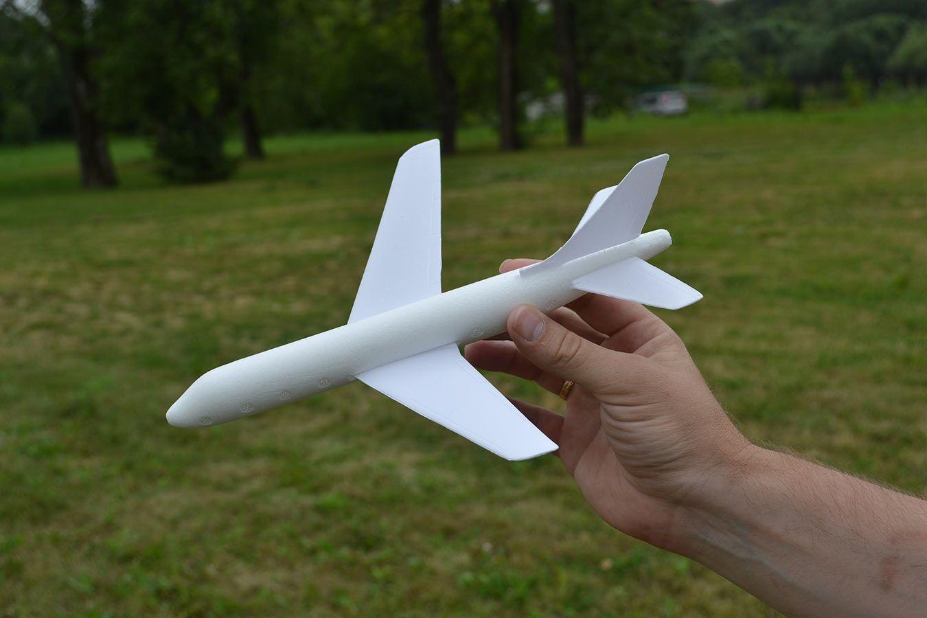 Планер Аэробус 27 см изображение 0