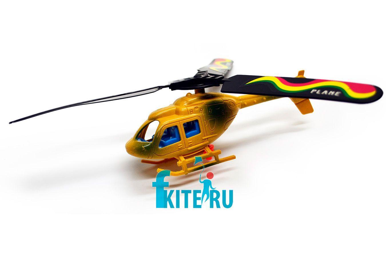Игрушка вертолет Разведчик с запуском [IGLR]