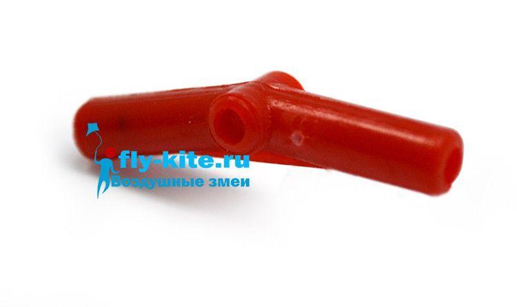 Фитинг cross joint S 3 mm соединительный жесткий для воздушного змея, кайта [FTS30]