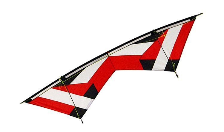 Змей воздушный управляемый Albatross, 4-х стропный Красный, 2.2 метра [ZB4RD]