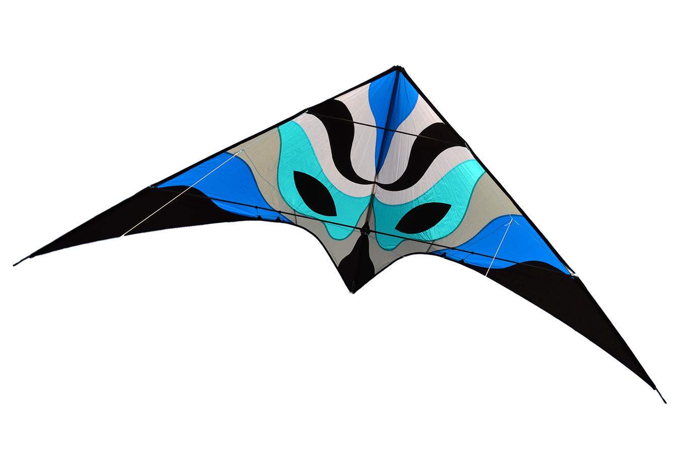 Синяя Вольто, управляемый воздушный змей 3.3 метра [ZU803]