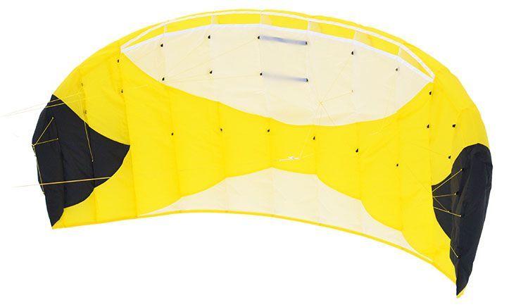 Кайт пилотажный Risty Kite 1.2 желтый [KR2Y]