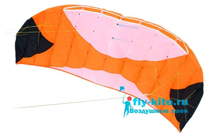 Кайт пилотажный Risty Kite 1.6 оранжевый [KR6O]