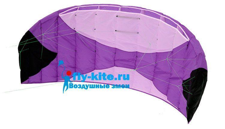 Кайт пилотажный Risty Kite 1.6 фиолетовый [KR6P]