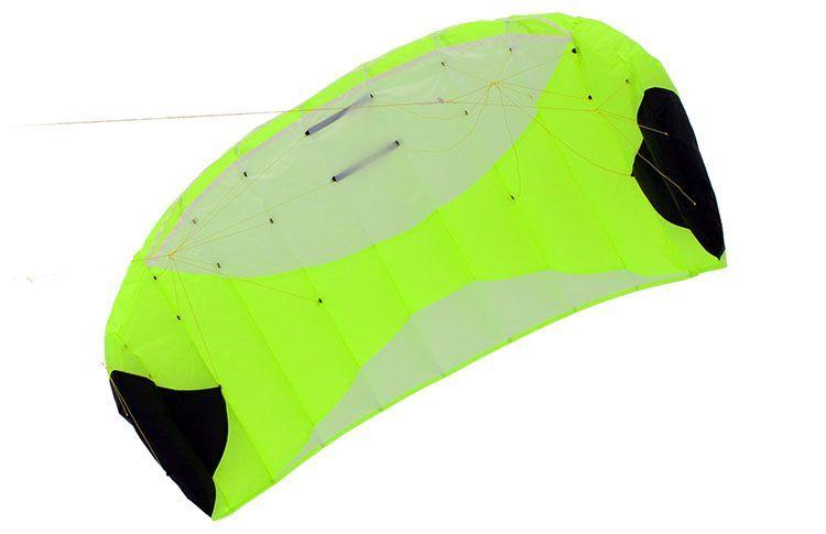 Кайт пилотажный Risty Kite 2.0 салатовый [KR0G]