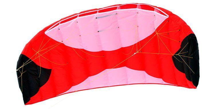 Кайт пилотажный Risty Kite 2.0 красный [KR0R]