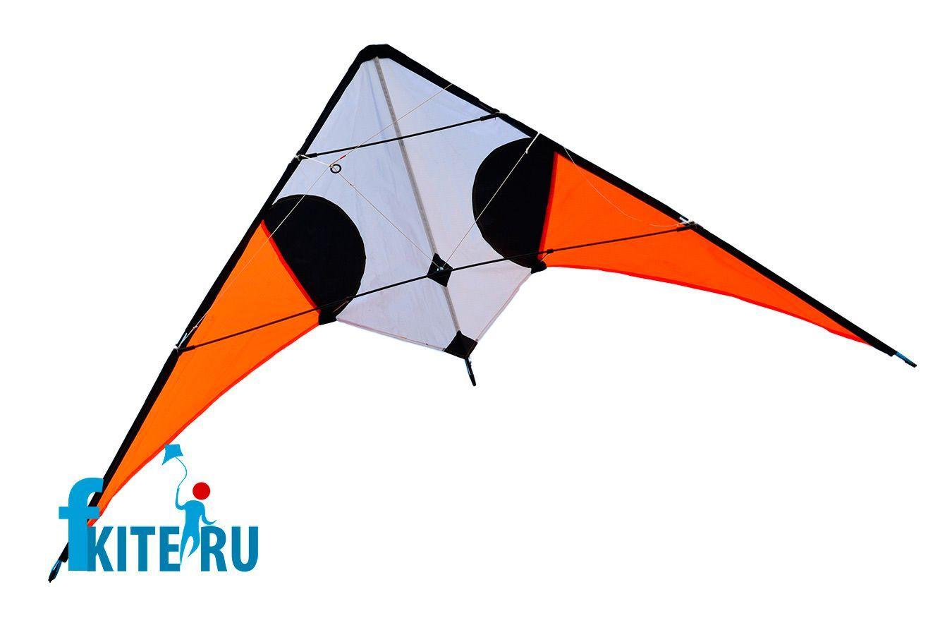 Оранжевый Стриж, управляемый воздушный змей [ZU3015]