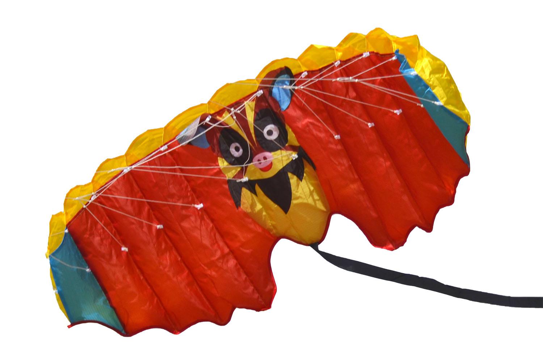 Красный Нетопырь, пилотажный кайт [ZU804]