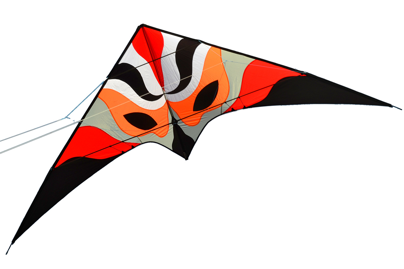 Красная Вольто, управляемый воздушный змей 3.3 метра [ZU801]