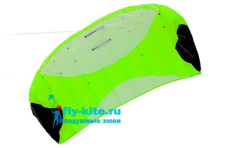 Кайт пилотажный Risty Kite 2.4 салатовый [KR4G]