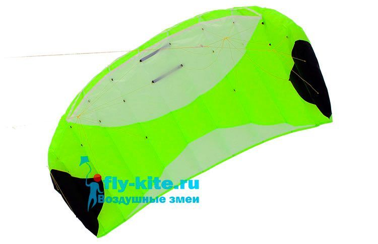 Кайт пилотажный Risty Kite 2.8 салатовый [KR8С]