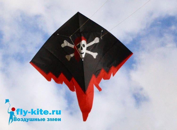 Парящий Пират, управляемый воздушный змей [ZB8PP]