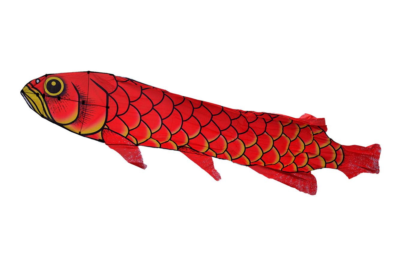 Красный Амур, воздушный змей 4 метра [ZB519]