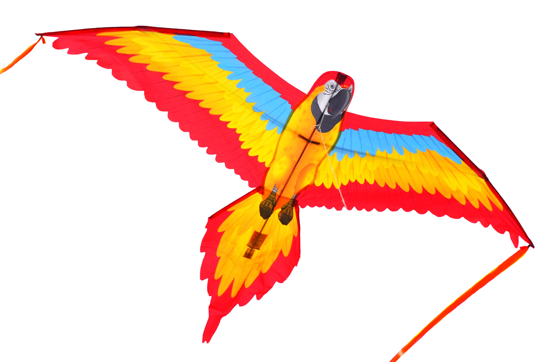 Красная Аратинга, 3D воздушный змей [ZB587]
