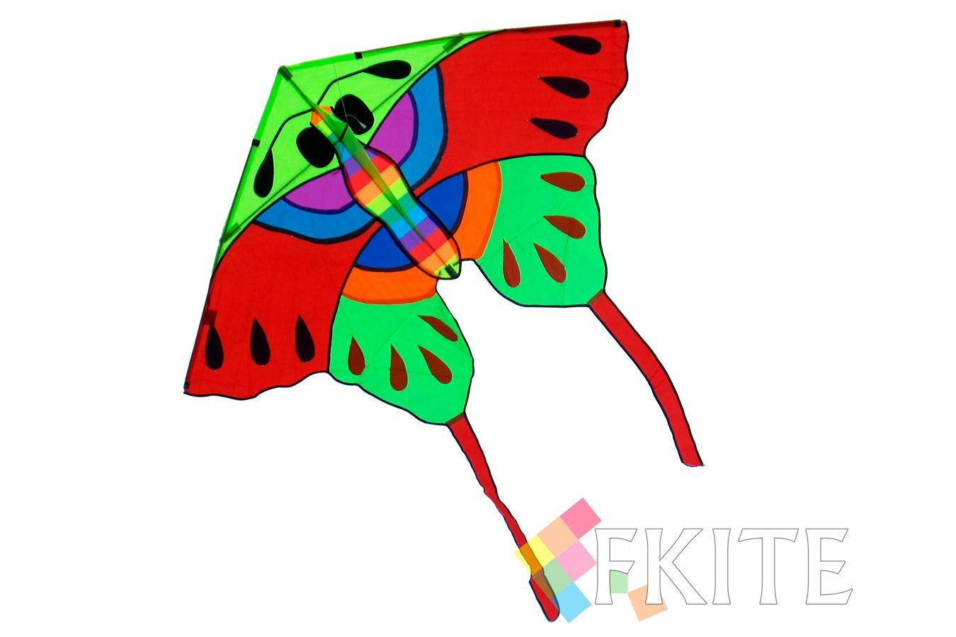 Красная Аталия, воздушный змей бабочка [ZBTK021]