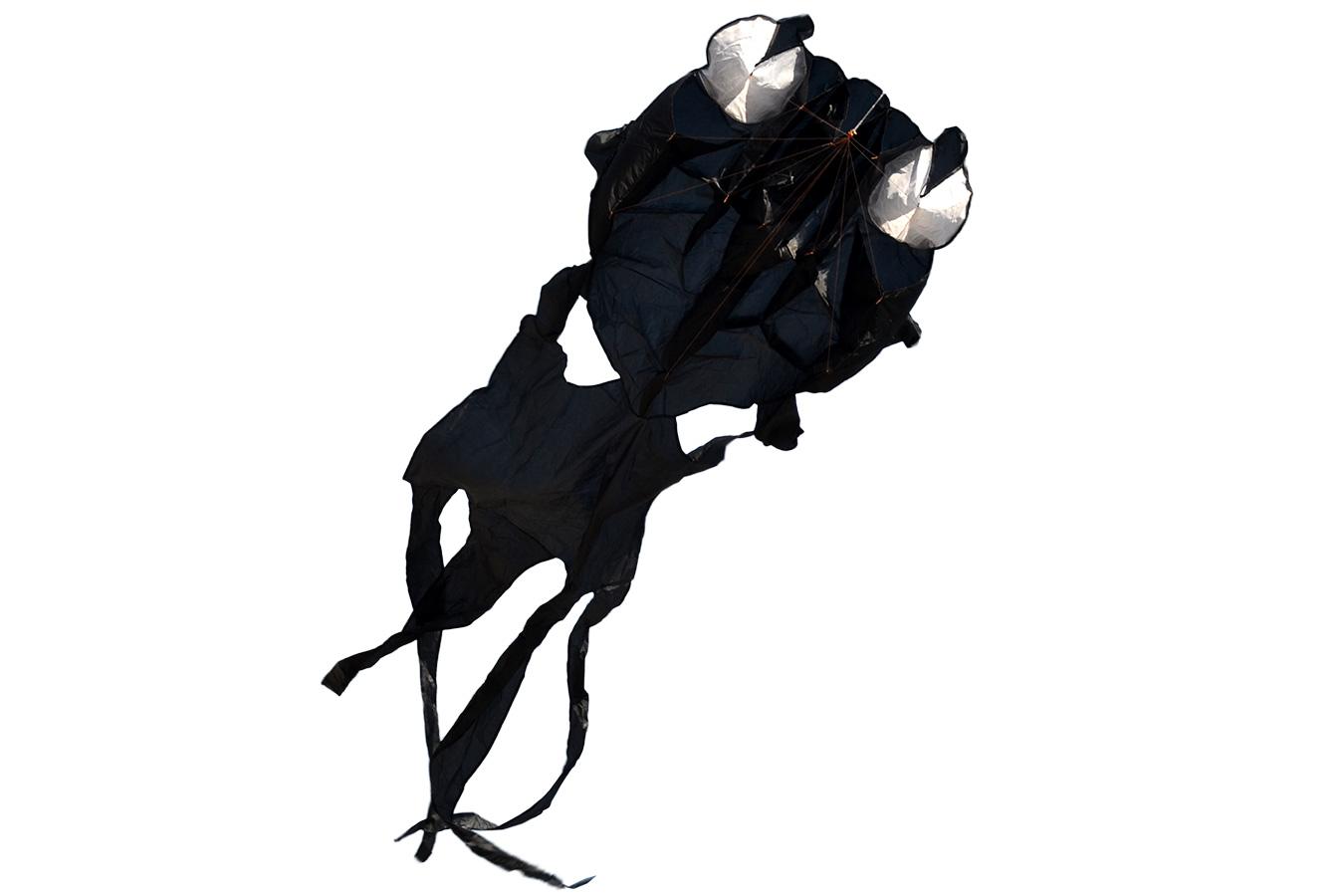 Черный монах, воздушный змей 3 метра [ZB411]