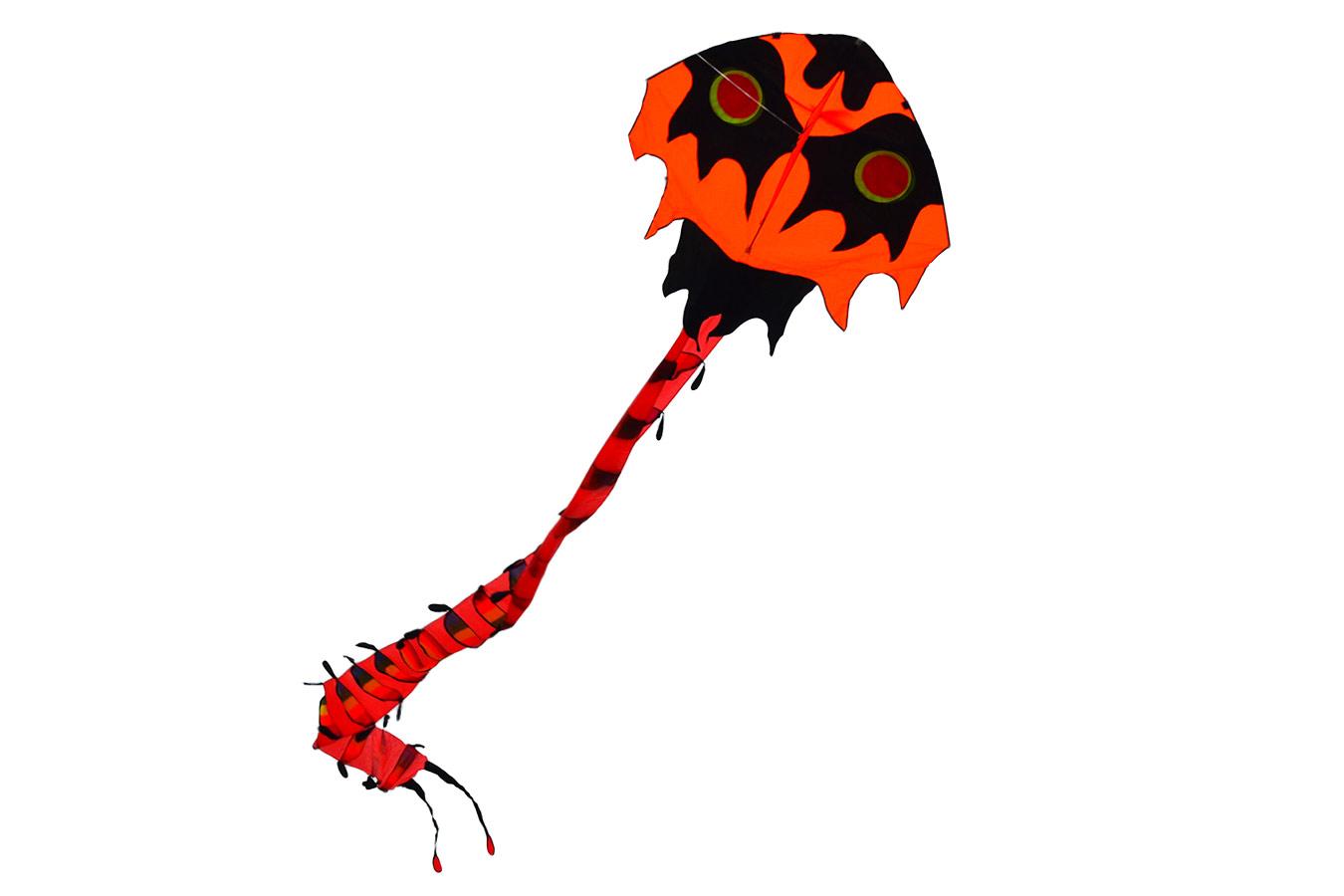 Большая Сороконожка, воздушный змей 10 метров [ZBEG]