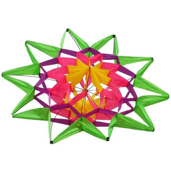 цветок удачи, коробчатый воздушный змей [zbff]