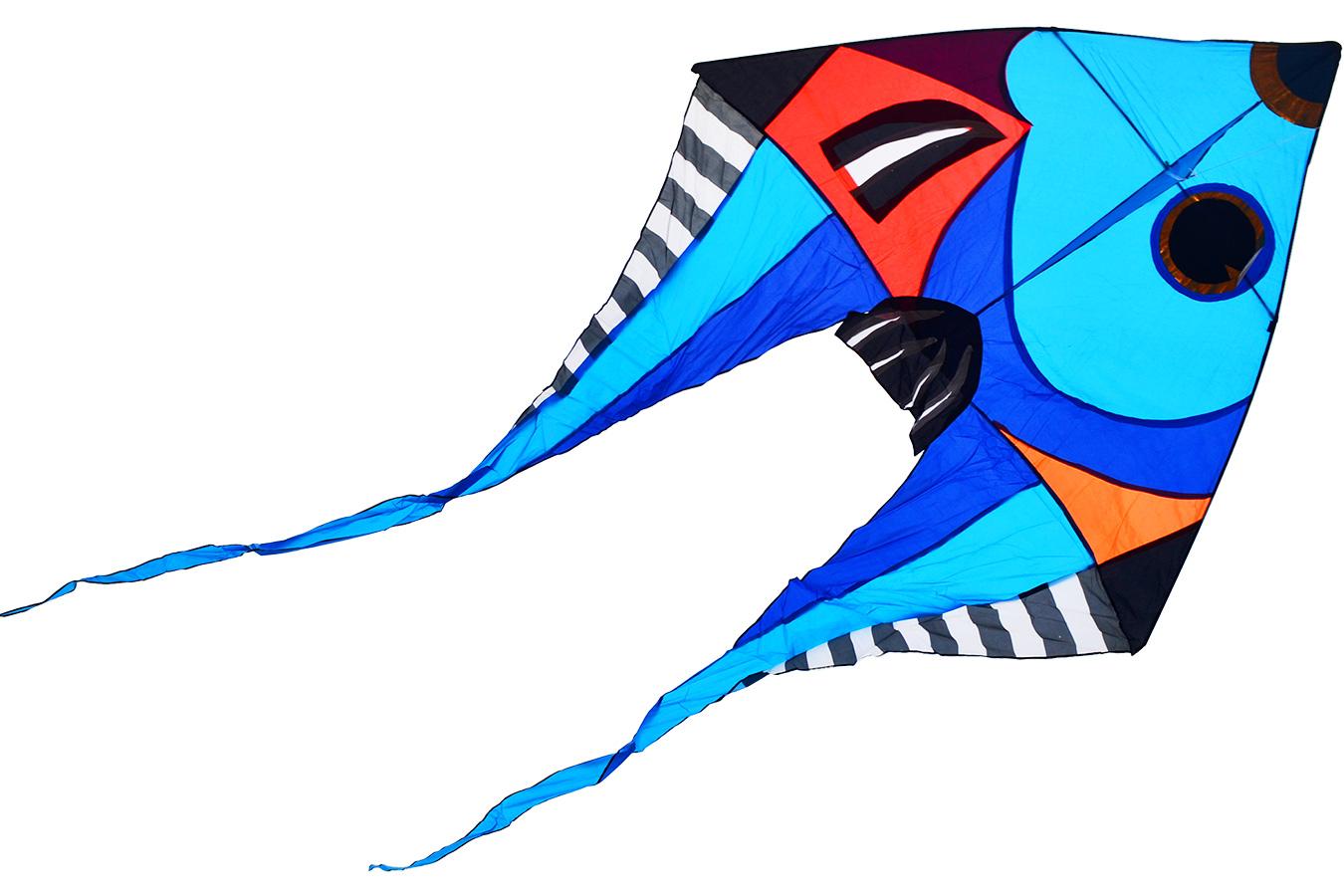 Змей воздушный Фронтоза синяя [ZVKTB]
