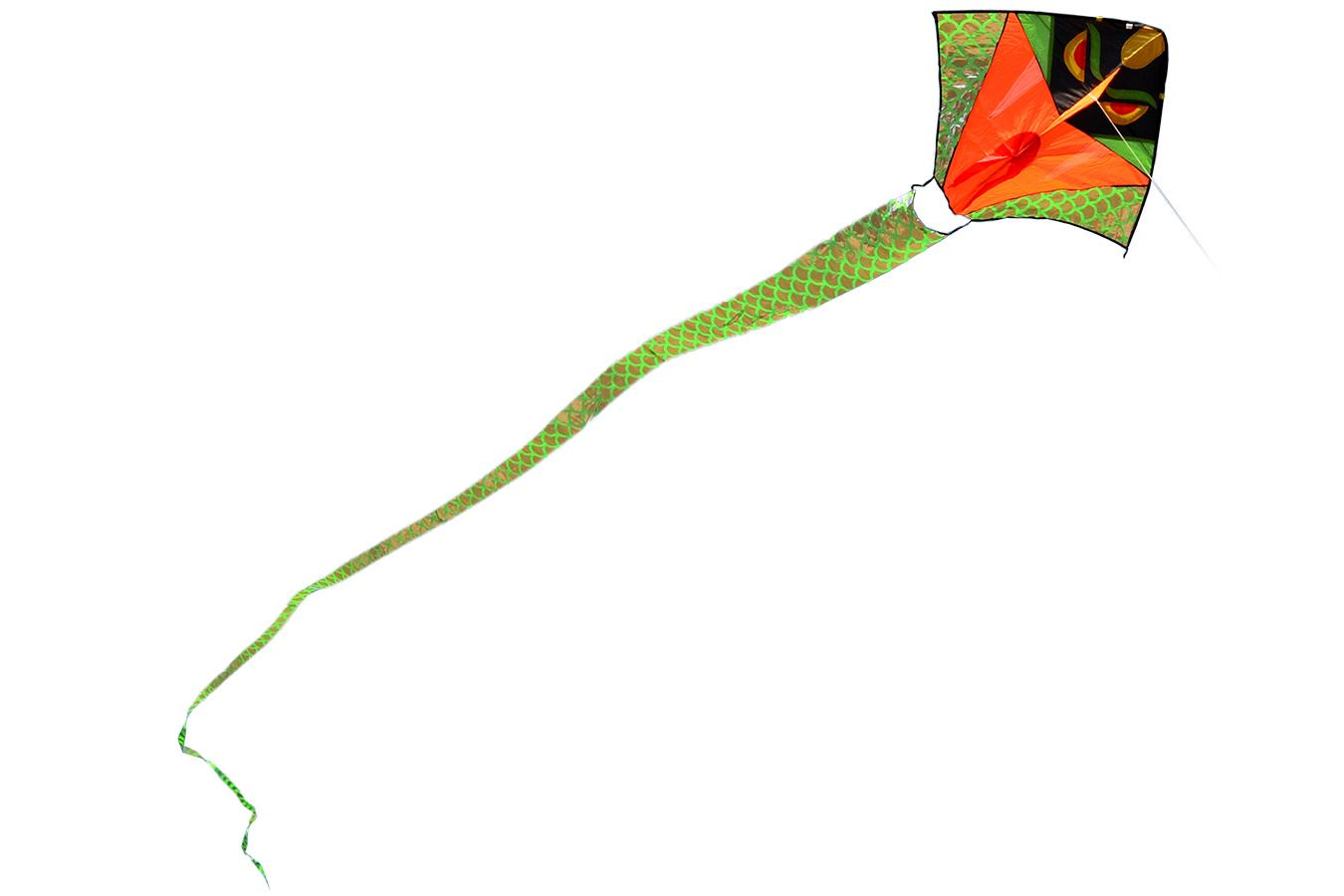 Зеленый питон, воздушный змей 10 метров [ZB501]