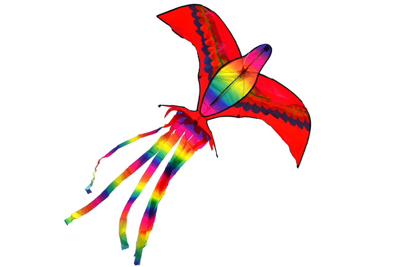 Сверкающий Кетсаль, воздушный змей [ZB509]