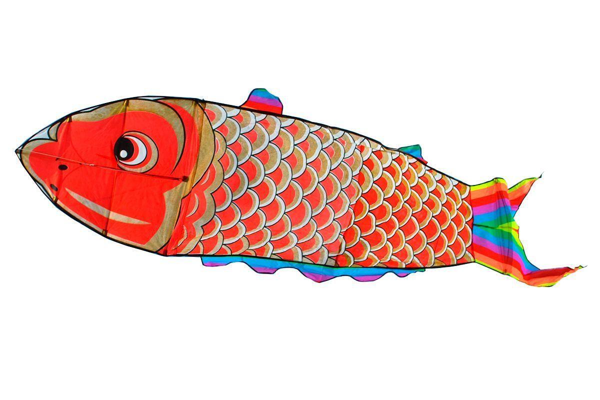 Змей воздушный Golden Fish Золотая рыба, 4.0 кв.м [ZBGF]