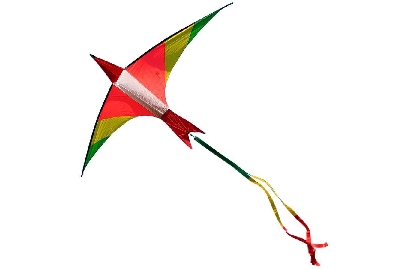 Алый Ибис, воздушный змей 3 метра [ZBIR]