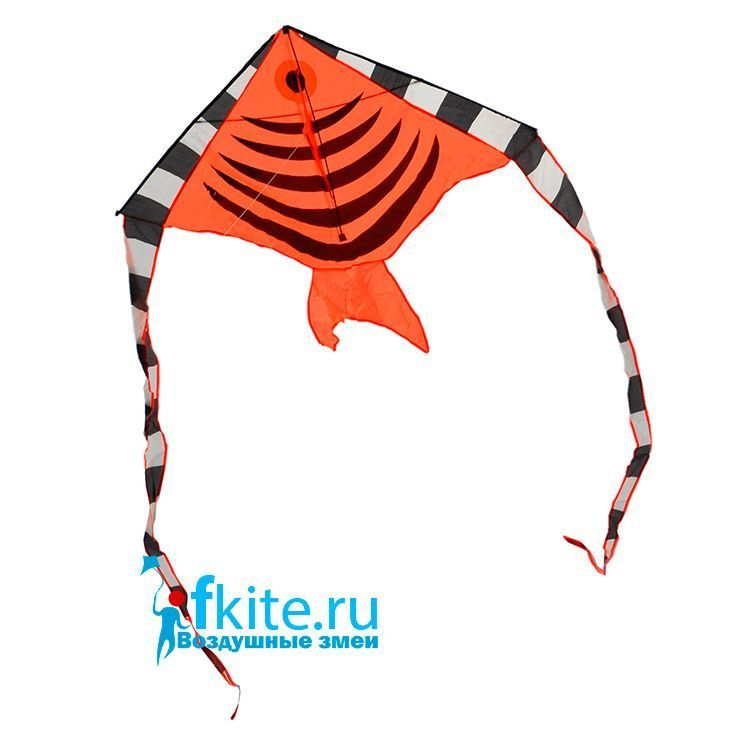 Оранжевая тропическая рыбка, воздушный змей [ZBOF]
