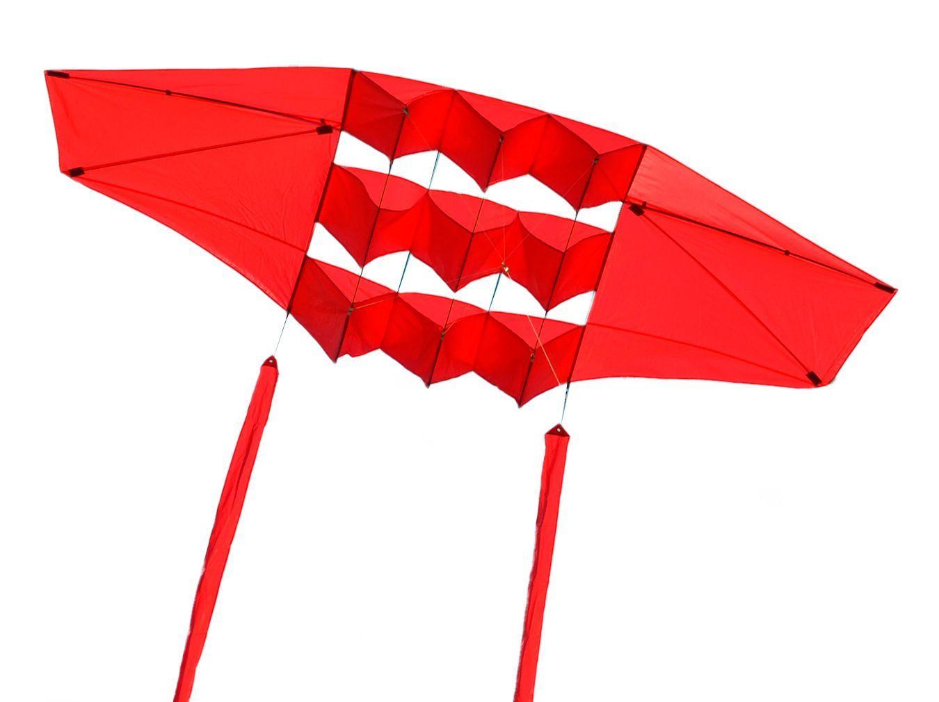 Змей воздушный Red Vikings Красный Варяг, 2.5 кв.м [ZBRV]