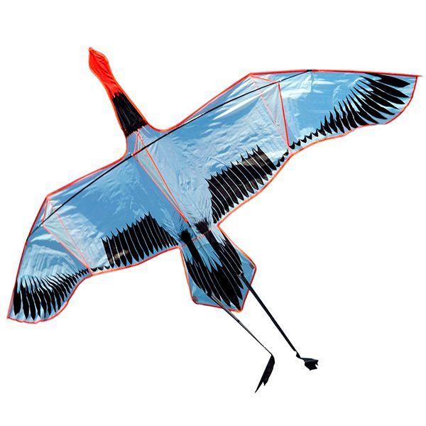 Японский Журавль, воздушный змей 3 метра [ZB598]