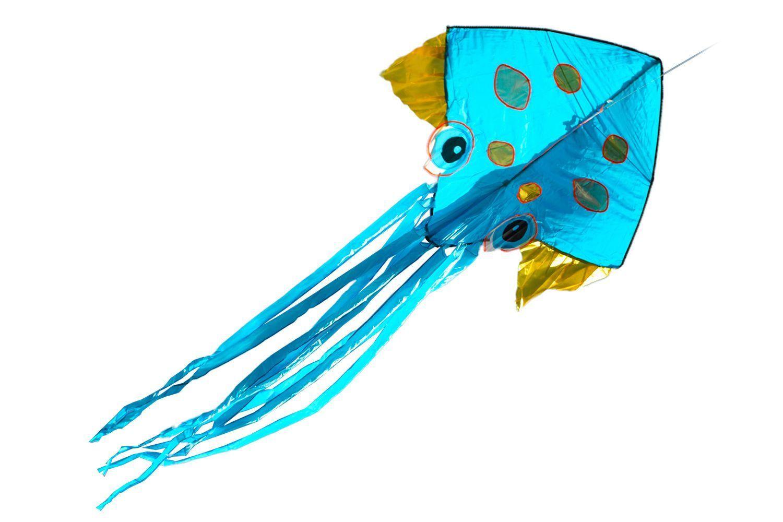 Золотая Медуза, воздушный змей 3 метра [ZBGM]