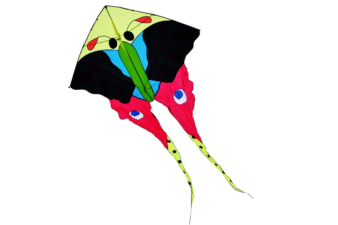 Князь, воздушный змей бабочка 3 метра [ZBTP]