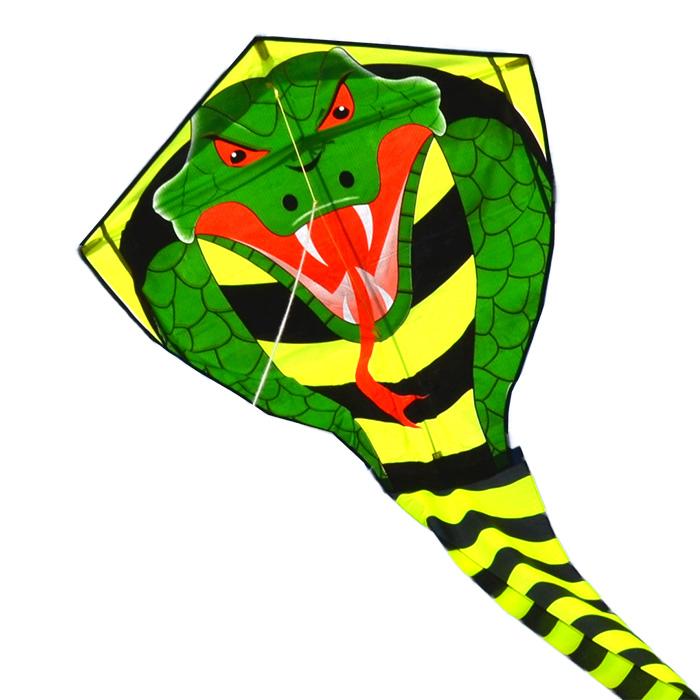 огромная кобра, воздушный змей 32 метра [zb510]